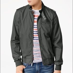 NWT Members Only green iconic racing bomber jacket
